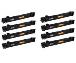 8 cartuchos de toneres Compatibles, Brother TN-1050 Negro ~ 1.000 Paginas
