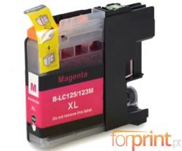 Cartucho de Tinta Compatible Brother LC-121 M / LC-123 M Magenta 10ml