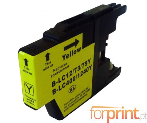 Cartucho de Tinta Compatible Brother LC-1220 Y / LC-1240 Y / LC-1280 Y Amarillo 16.6ml