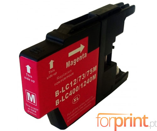 Cartucho de Tinta Compatible Brother LC-1220 M / LC-1240 M / LC-1280 M Magenta 16.6ml