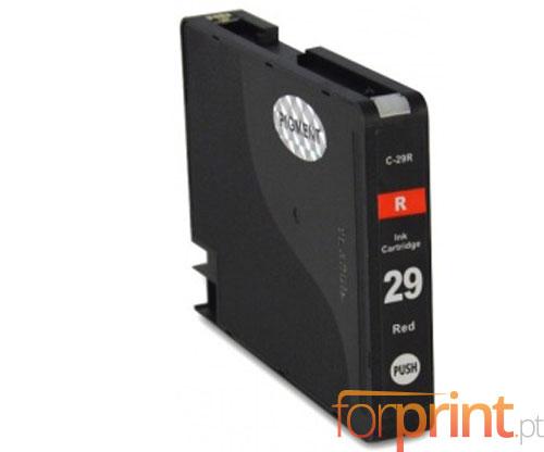 Cartucho de Tinta Compatible Canon PGI-29 Rojo 36ml