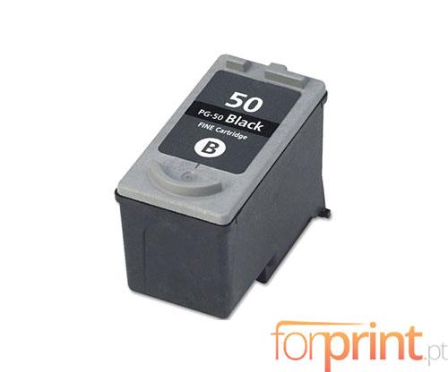 Cartucho de Tinta Compatible Canon PG-37 / PG-40 / PG-50 Negro 22ml