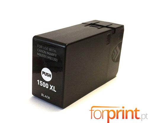 Cartucho de Tinta Compatible Canon PGI-1500 XLBK Negro 36ml
