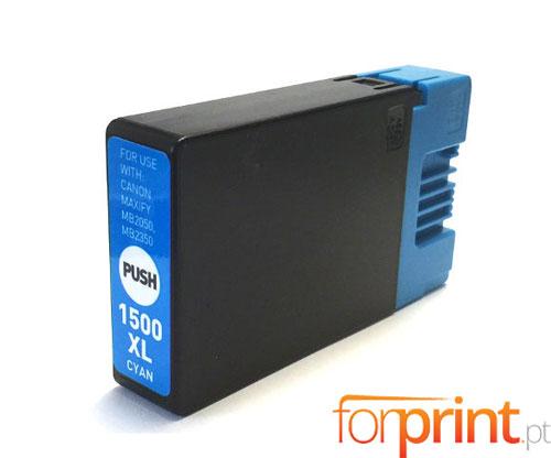 Cartucho de Tinta Compatible Canon PGI-1500 XLC Cyan 11.5ml
