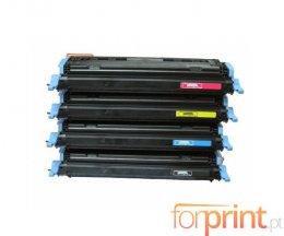 4 Cartuchos de Toneres Compatibles, Canon 707 Negro + Colores ~ 2.500 / 2.000 Paginas