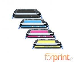 4 Cartuchos de Toneres Compatibles, Canon 711 Negro + Colores ~ 6.000 Paginas