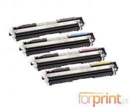 4 Cartuchos de Toneres Compatibles, Canon 729 Negro + Colores ~ 1.200 / 1.000 Paginas