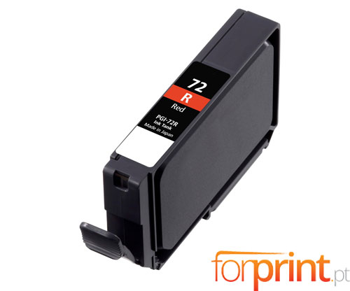 Cartucho de Tinta Compatible Canon PGI-72 Rojo 14ml