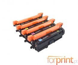 4 Cartuchos de Toneres Compatibles, Canon 723H / 732H Negro + Colores ~ 10.500 / 7.000 Paginas