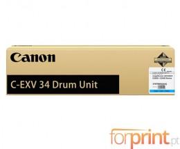 Tambor de imagen Original Canon C-EXV 34 Cyan ~ 36.000 Paginas