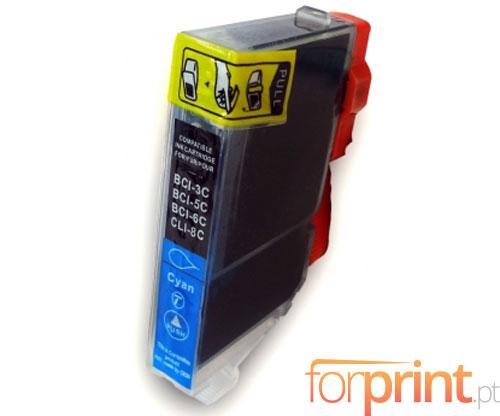 Cartucho de Tinta Compatible Canon BCI-6 C Cyan 13.4ml