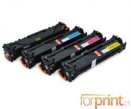 4 Cartuchos de Toneres Compatibles, HP 131X Negro + HP 131A Colores ~ 2.200 / 1.400 Paginas
