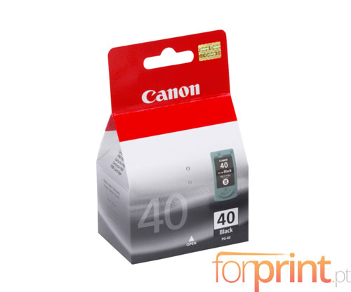 Cartucho de Tinta Original Canon PG-40 Negro 16ml ~ 360 Paginas