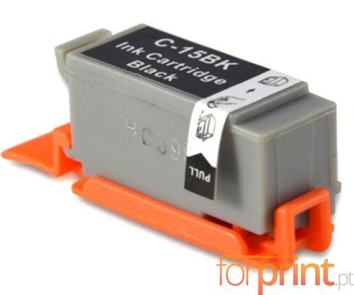 Cartucho de Tinta Compatible Canon BCI-15 Negro 5.2ml