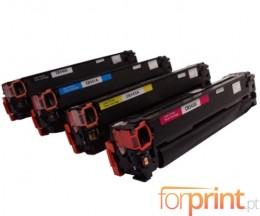 4 Cartuchos de Toneres Compatibles, Canon EP-716 Negro + Colores ~ 2.200 / 1.400 Paginas