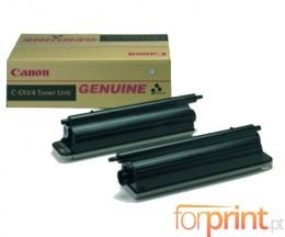 2 Cartuchos de Toneres Originales, Canon C-EXV 4 Negro ~ 36.000 Paginas