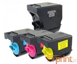 4 Cartuchos de Toneres Compatibles, Canon C-EXV 21 Negro + Colores ~ 28.000 / 14.000 Paginas