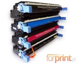 4 Cartuchos de Toneres Compatibles, HP 645A Negro + Colores ~ 13.000 / 12.000 Paginas