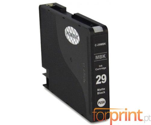 Cartucho de Tinta Compatible Canon PGI-29 Negro Mate 36ml