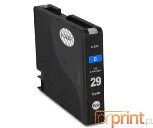 Cartucho de Tinta Compatible Canon PGI-29 Cyan 36ml