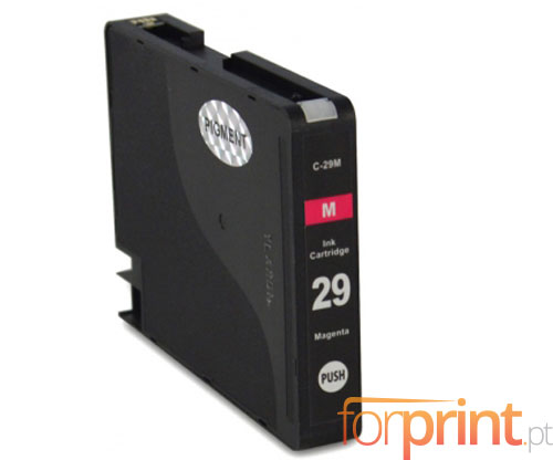 Cartucho de Tinta Compatible Canon PGI-29 Magenta 36ml