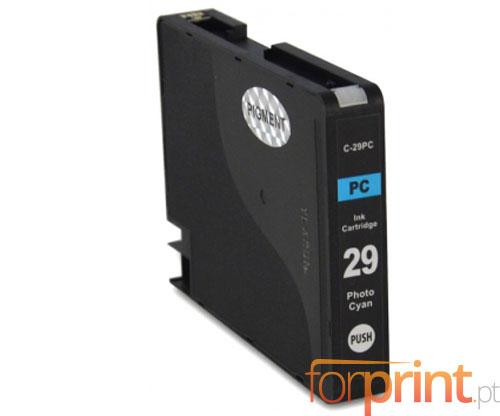 Cartucho de Tinta Compatible Canon PGI-29 Cyan Claro 36ml