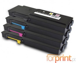 4 Cartuchos de Toneres Compatibles, DELL 5931111X Negro + Colores ~ 11.000 / 9.000 Paginas