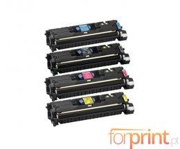 4 Cartuchos de Toneres Compatibles, Canon 701 Negro + Colores ~ 5.000 / 4.000 Paginas