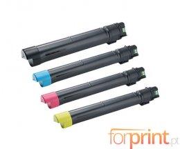 4 Cartuchos de Toneres Compatibles, DELL J6DTH / 6YJGD / 8N8JV / F5Y6V Negro + Colores ~ 26.000 / 15.000 Paginas