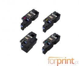 4 Cartuchos de Toneres Compatibles, DELL 593BBLX Negro + Colores ~ 2.000 / 1.400 Paginas