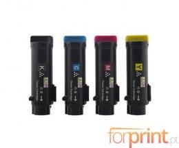 4 Cartuchos de Toneres Compatibles, DELL N7DWF / 5PG7P / 3P7C4 / P3HJK Negro + Colores ~ 3.000 / 2.500 Paginas