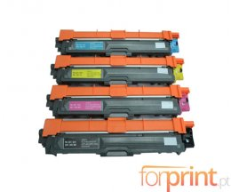 4 Cartuchos de Toneres Compatibles, Brother TN-421 / TN-423 Negro + Colores ~ 6.500 / 4.000 Paginas