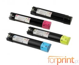 4 Cartuchos de Toneres Compatibles, DELL 5931092X Negro + Colores ~ 18.000 / 12.000 Paginas