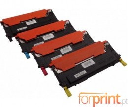4 Cartuchos de Toneres Compatibles, Dell 5931049X Negro + Colores ~ 1.500 / 1.000 Paginas