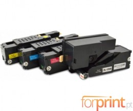 4 Cartuchos de Toneres Compatibles, DELL 5931114X Negro + Colores ~ 2.000 / 1.400 Paginas