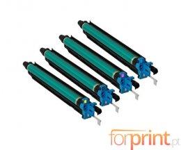 4 Tambores de imagen Compatibles, Konica Minolta DR-311 Negro + Colores ~ 70.000 / 55.000 Paginas