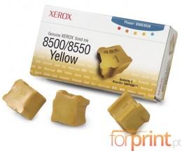 3 ColorSticks Originales, Xerox 108R00671 Amarillo ~ 3.000 Paginas