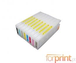 8 Cartuchos de Tinta Compatibles, Epson T5441-T05448 Negro + Colores 220ml