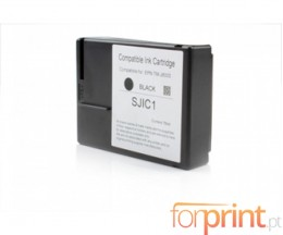 Cartucho de Tinta Compatible Epson SJIC1 Negro ~ 12.000.000 Caracteres