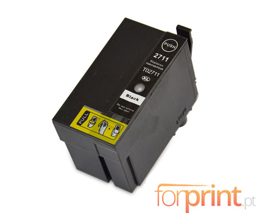 Cartucho de Tinta Compatible Epson T2701 / T2711 Negro 22.4ml