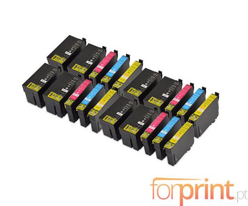 20 Cartuchos de tinta Compatibles, Epson T2701-T2704 / T2711-T2714 Negro 22.4ml + Colores 15ml