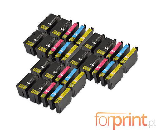 30 Cartuchos de tinta Compatibles, Epson T2701-T2704 / T2711-T2714 Negro 22.4ml + Colores 15ml