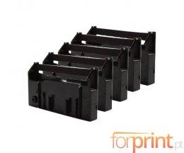5 Cintas Compatibles, Epson ERC-18B Negra