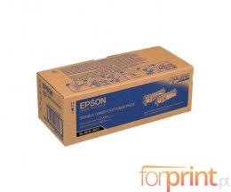 2 Cartuchos de Toneres Originales, Epson S050631 Negro ~ 3.000 Paginas
