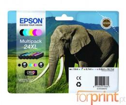 6 Cartuchos de tinta Originales, Epson T2431-T2436