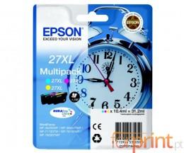 3 Cartuchos de tinta Originales, Epson T2715 Colores 10.4ml