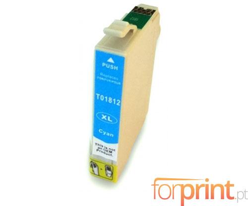 Cartucho de Tinta Compatible Epson T1802 / T1812 Cyan 13ml