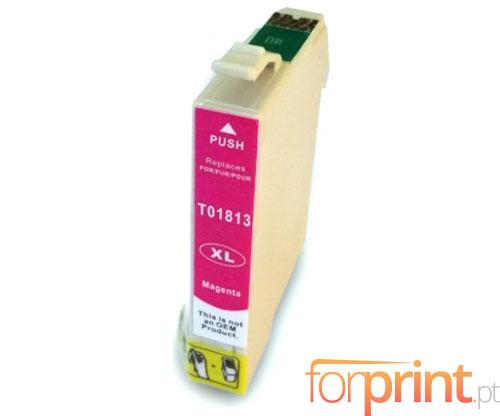 Cartucho de Tinta Compatible Epson T1803 / T1813 Magenta 13ml