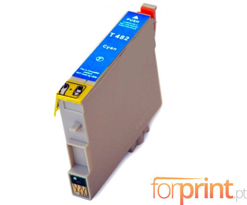 Cartucho de Tinta Compatible Epson T0482 Cyan 18ml