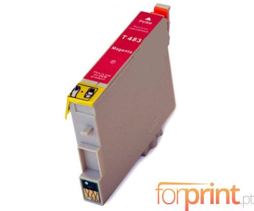 Cartucho de Tinta Compatible Epson T0483 Magenta 18ml
